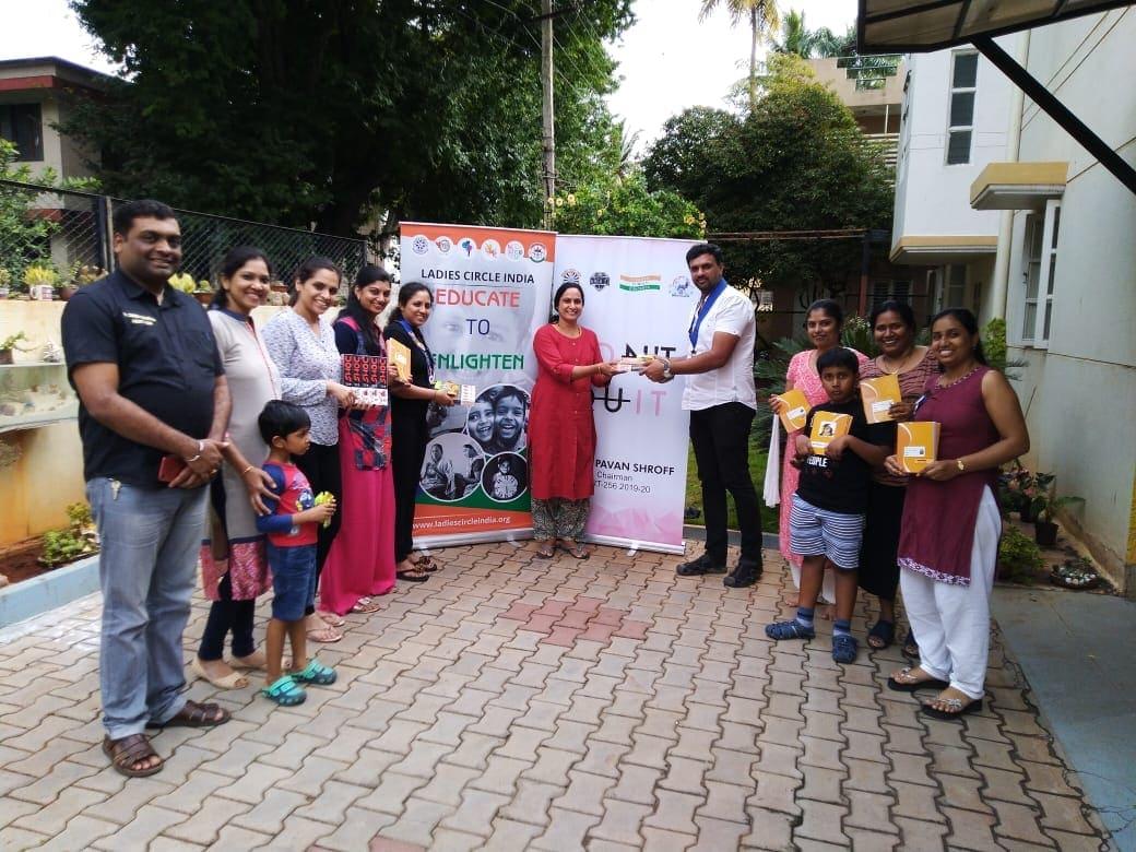 Stationary kit donated to Balya Foundation