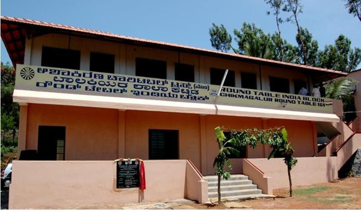 Classroom block at Asha Kiran School