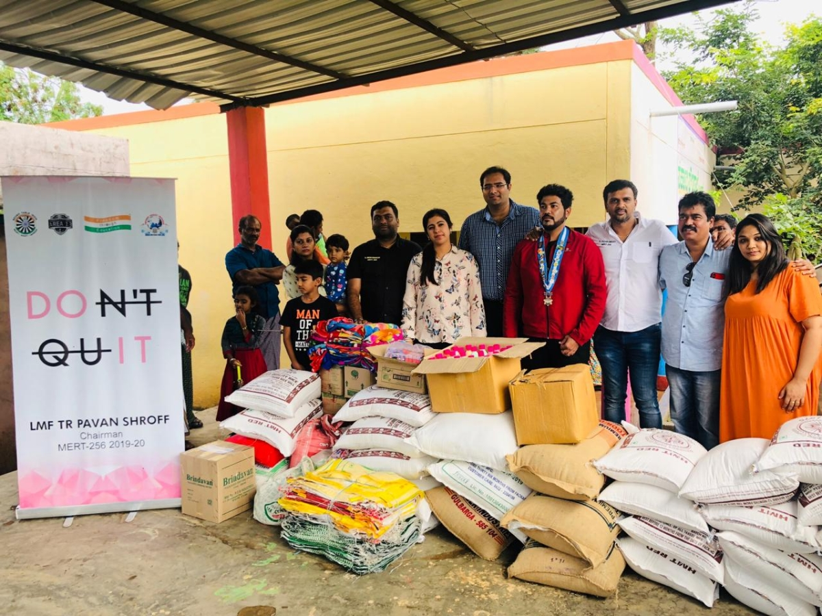 Donation of Flood Relief Material