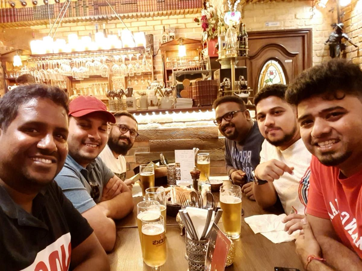 Beer & Dinner Fellowship