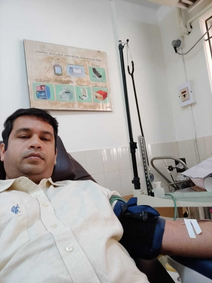 Blood Donation at Fr Mullers