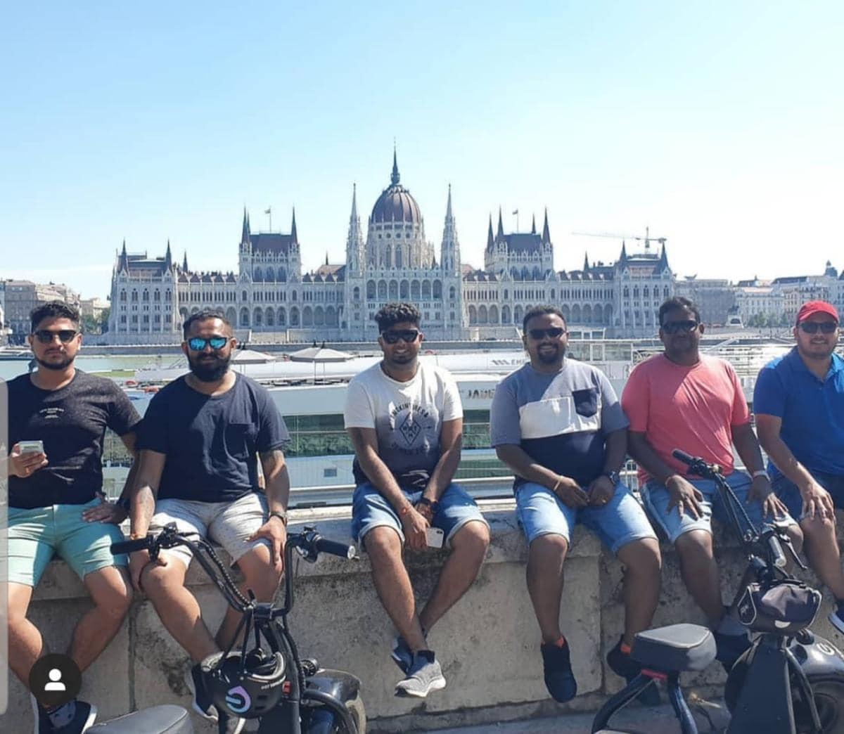 City tour on Monster Bike