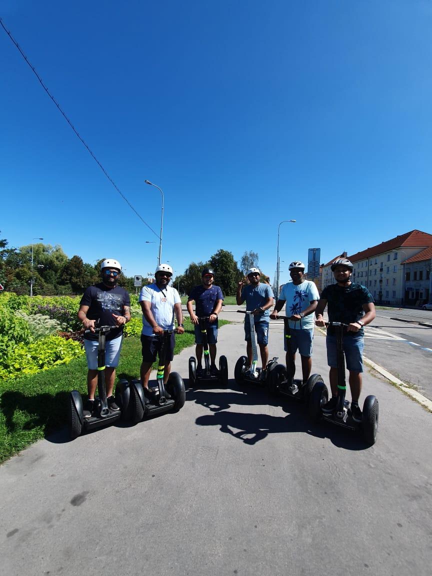 City tour on Segaway