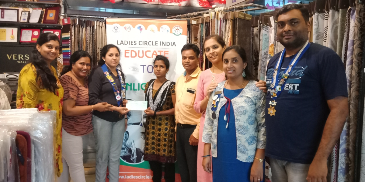 Fees Donation to a Poor Girl Student