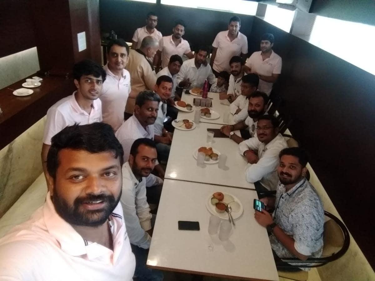 Joint breakfast Fellowship