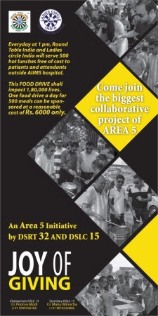 Joy of Giving, A Area 5 Initiative