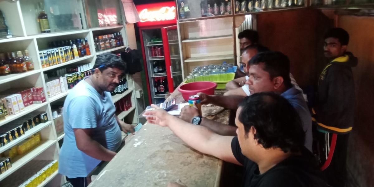 Fellowship @ a Local standing bar