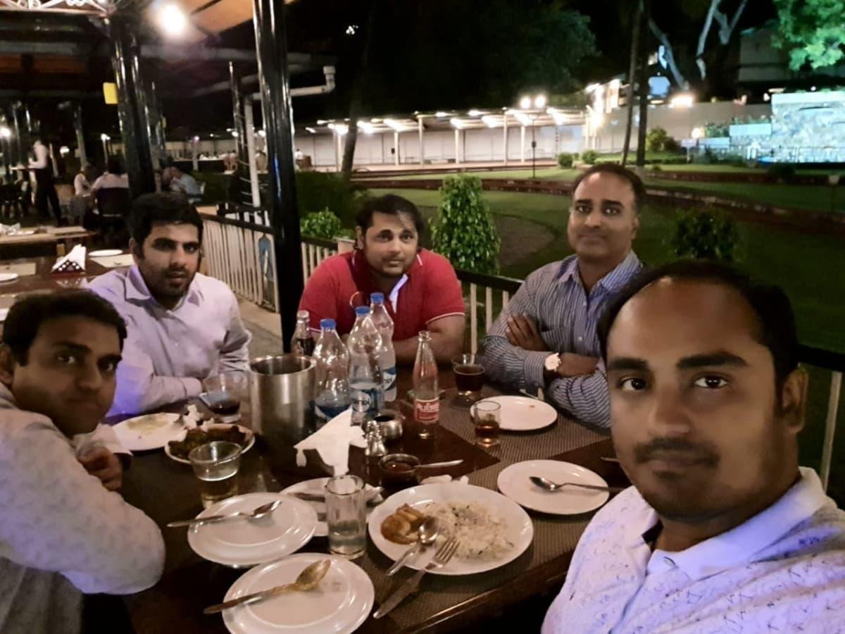 Drink and dinner @ J W Golf Club