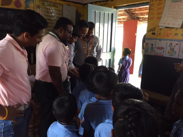 Inaguration of The Toilet Block Alkola Govt School