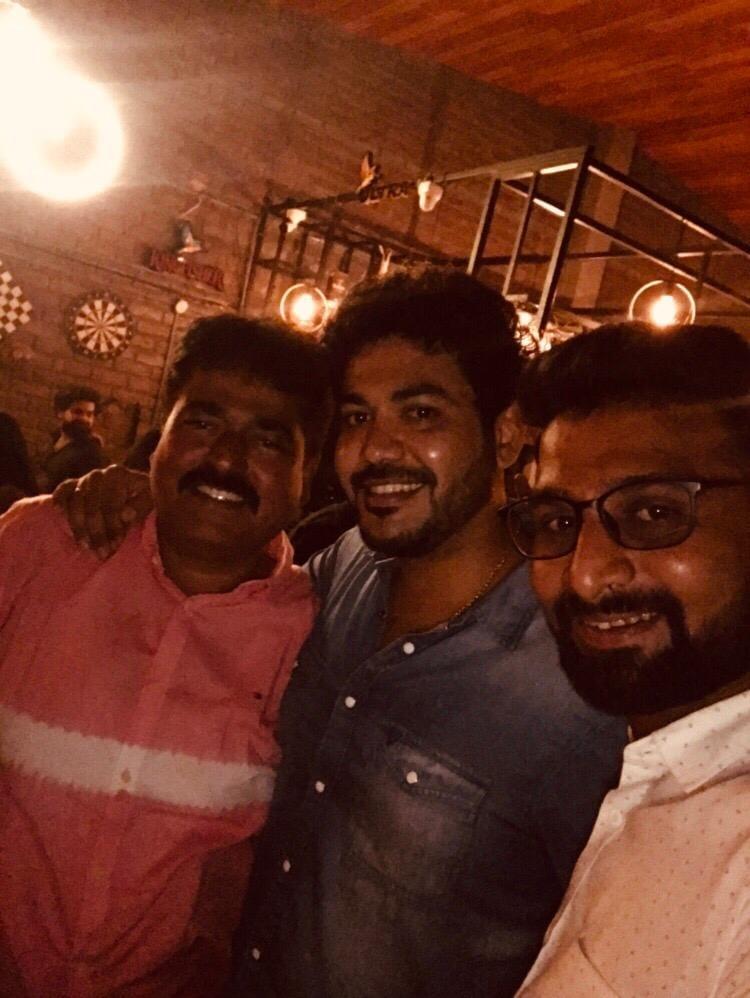 Evening spent @ Mysore Socials