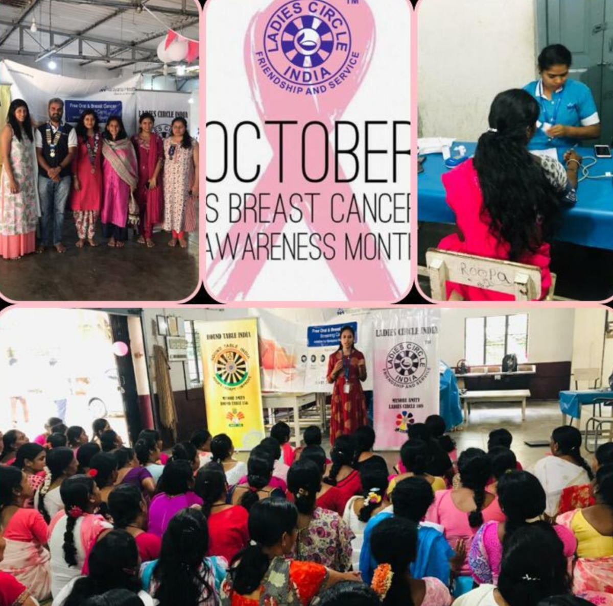 Breast Cancer Awareness and Check up Camp