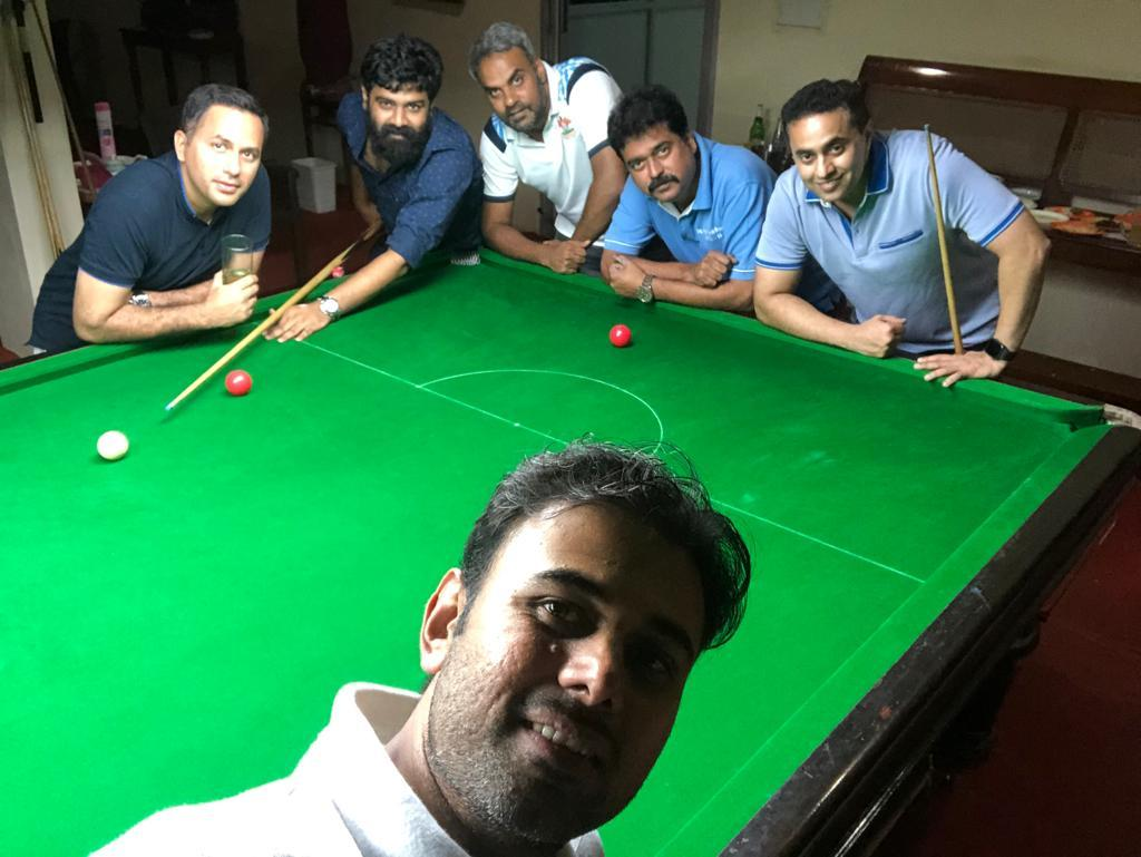 Snooker with 41 ers