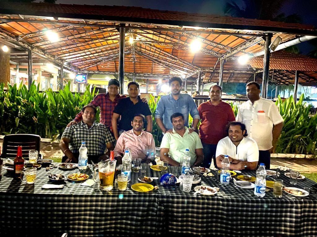 Fellowship with Tr.Nagarjuna Teeka of CRT 164