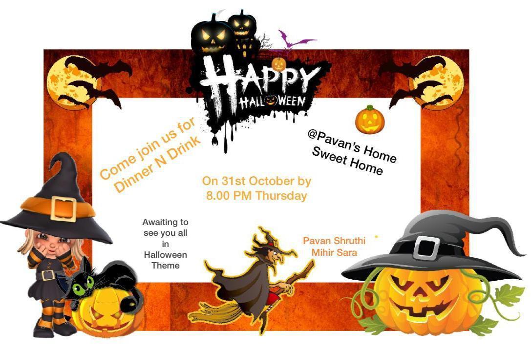 Area Fellowship Initiative - Halloween Socials