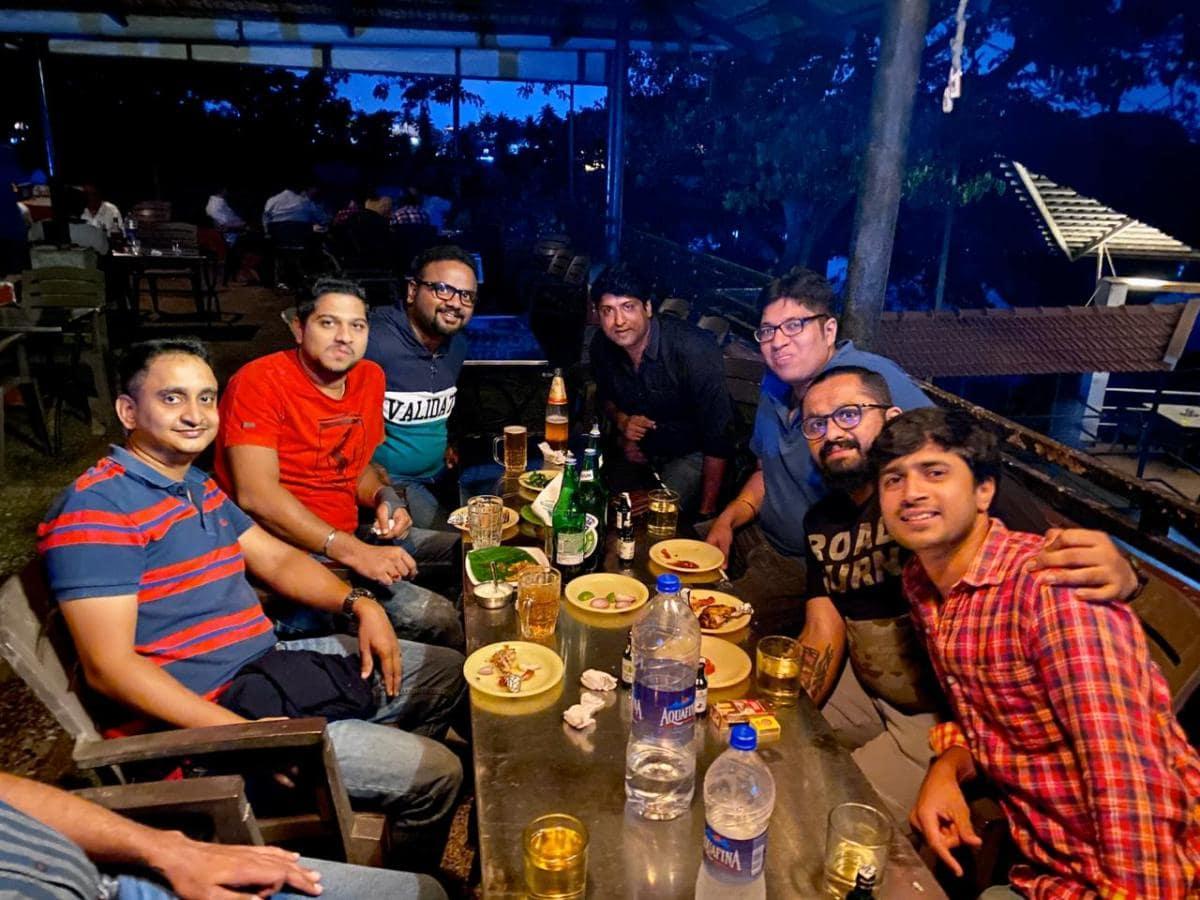 Joint dinner fellowship with srt 166