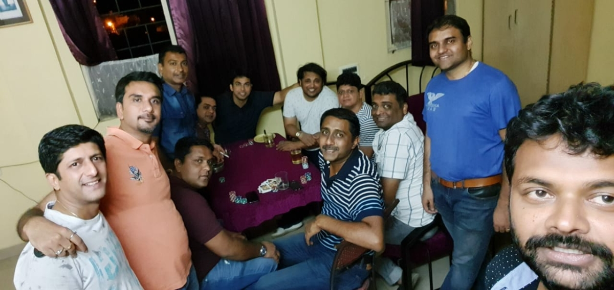 Smart 266 Poker Fellowship with Mysore Tablers And 41Ers
