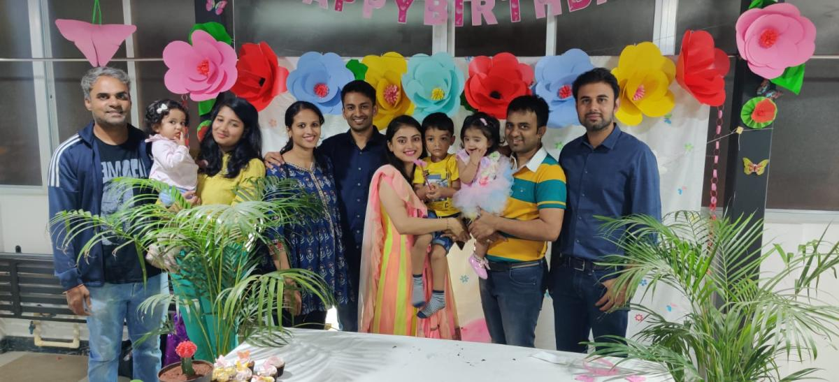 Aadhya's first Birthday celebration