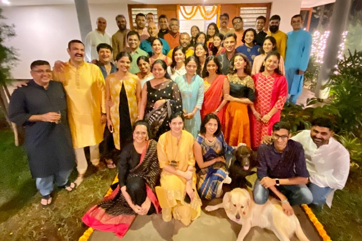 Joint fellowship with 41 ers Diwali celebration