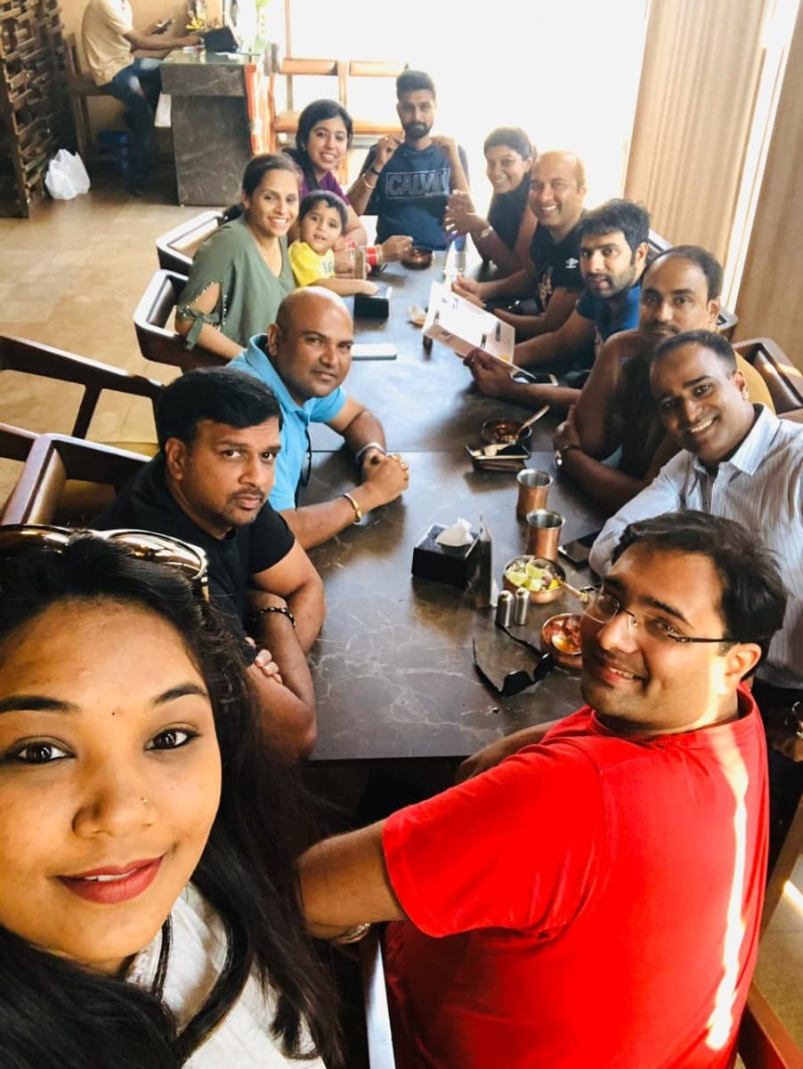 Lunch Fellowship in Hubli