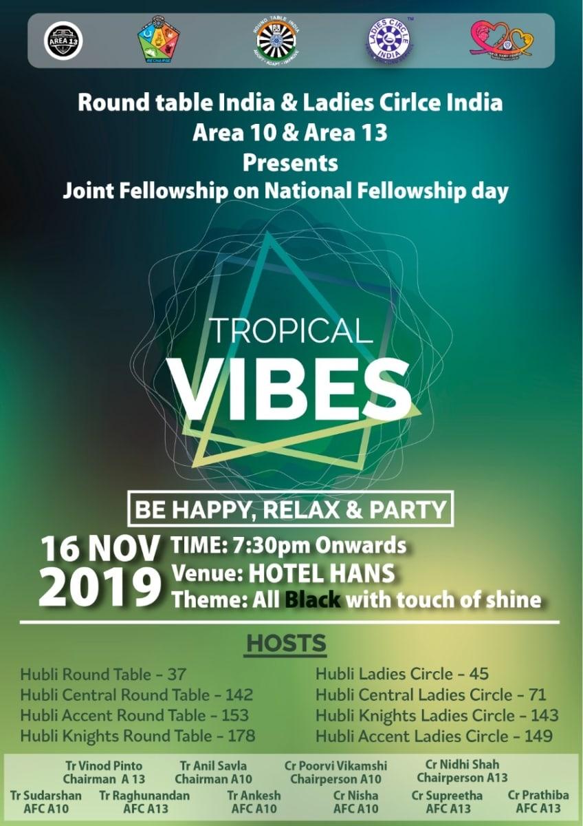 Joint Fellowhip on National Fellowship Day