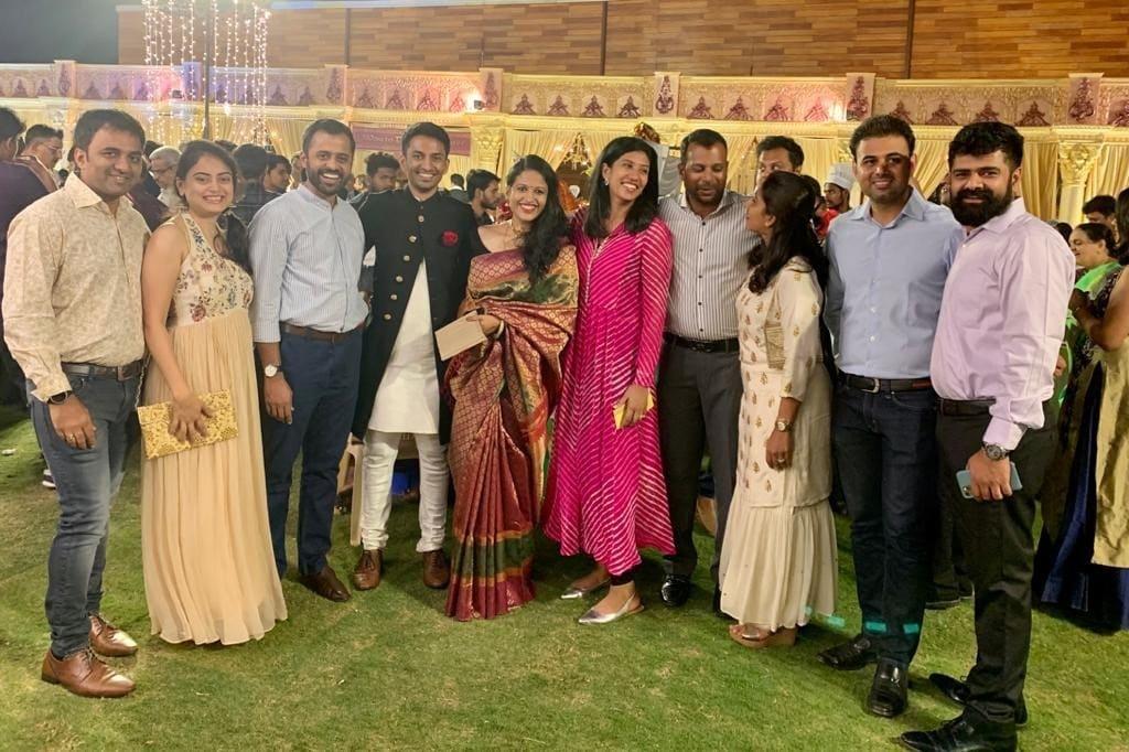 Tr. Manu's brothers wedding